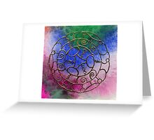 Viking Jewel Greeting Card