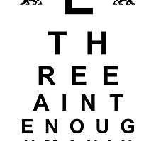 Big E Langston Eye Chart by TroyEdward