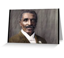 George Washington Carver, 1906 Greeting Card
