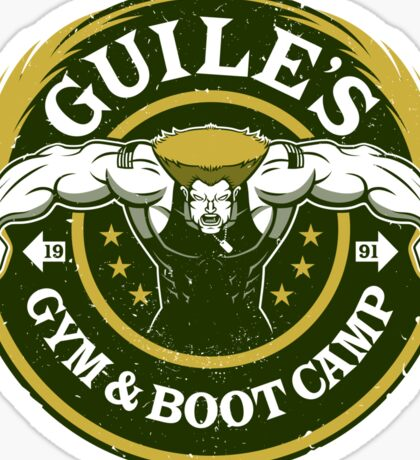 Guile's Gym & Boot Camp Sticker