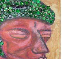 Ethnic collection 2 phone case buda head by AnaCanas