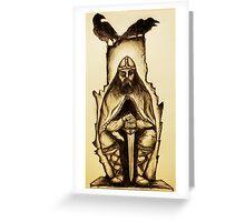 Odin Greeting Card