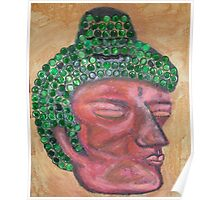 Ethnic collection 2 posters,prints and cards case buda head Poster