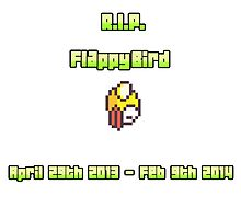RIP Flappy Bird by suzeejobs
