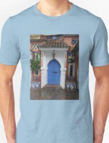 Atlas Travel Desert Caravan 3 village t-shirt T-Shirt