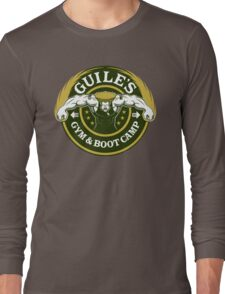 Guile's Gym & Boot Camp Long Sleeve T-Shirt