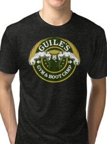 Guile's Gym & Boot Camp Tri-blend T-Shirt