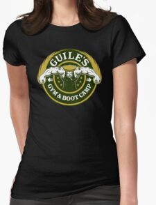 Guile's Gym & Boot Camp Womens Fitted T-Shirt