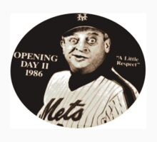 "Rodney Dangerfield Mets Opening Day 1986 ""A Little Respect"" by smilku"