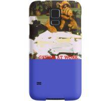 Alf Genius At Work Samsung Galaxy Case/Skin