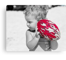 red challenge Canvas Print