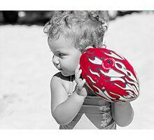 red challenge Photographic Print