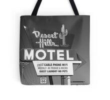 Route 66 - Desert Hills Motel Tote Bag