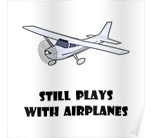 Plays With Airplanes Poster