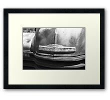 Route 66 - Old Rusty Chevy Framed Print