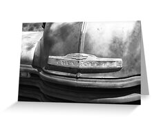 Route 66 - Old Rusty Chevy Greeting Card