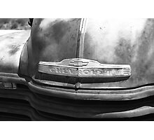 Route 66 - Old Rusty Chevy Photographic Print