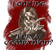Companions companion? by ErikaRoseArt