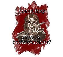 Companions companion? Photographic Print
