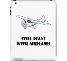Plays With Airplanes iPad Case/Skin