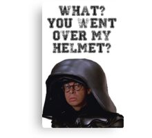 Spaceballs Dark Helmet Canvas Print