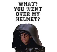 Spaceballs Dark Helmet Photographic Print