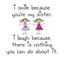 Sister Smile by AmazingMart