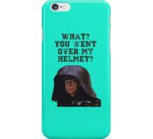 Spaceballs Dark Helmet iPhone Case/Skin