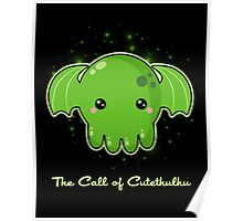 The Call of Cutethulhu Poster