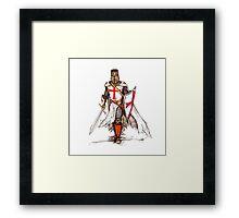 Templar Knight Framed Print