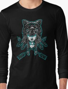 Wolf Spirit: Guarded Long Sleeve T-Shirt