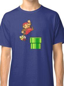 Mario vs. Flappy Bird Classic T-Shirt