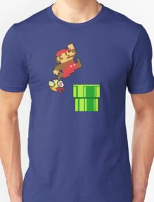 Mario vs. Flappy Bird T-Shirt