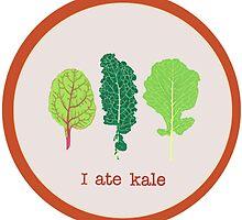 I ate kale by youdidit