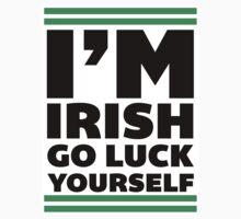 Go Luck Yourself, Im Irish, Saint Patricks Day T Shirt, St Paddys by Six 3