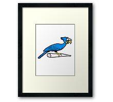 Funny Bird Framed Print