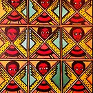 9 Angels - Ethiopian Folk art by jonkania