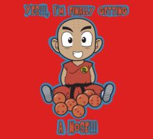 Krillin wishes for the important things. Kids Clothes