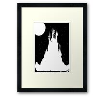 FAIRY MAGIC CASTLE  Framed Print
