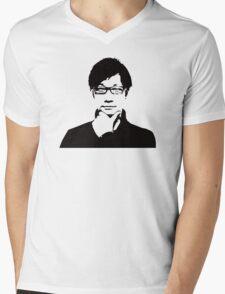 Hideo Kojima Mens V-Neck T-Shirt