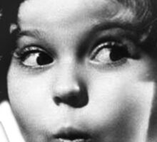 Shirley Temple Sticker