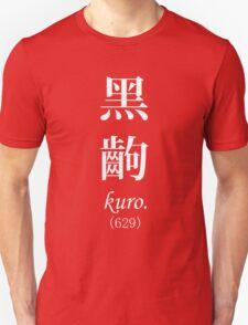 Monogatari Black Scene, Kuro T-Shirt