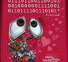 Robot Valentine by Myka Blacke