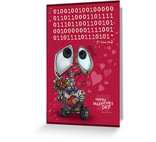 Robot Valentine Greeting Card