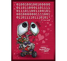 Robot Valentine Photographic Print