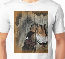 The Little Old Hunter searching for caves Unisex T-Shirt