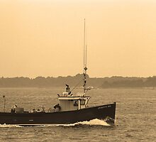 Fishing Boat, Portland, Maine by Frank Romeo