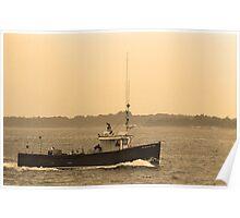 Fishing Boat, Portland, Maine Poster