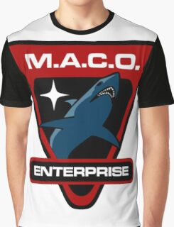 Star Trek - MACO Enterprise Graphic T-Shirt