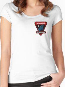 Star Trek - MACO Enterprise Women's Fitted Scoop T-Shirt
